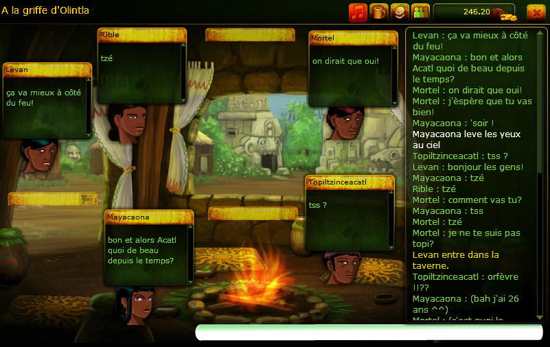 Native Kingdoms Multiplayer Roleplaying Game With The Aztecs The